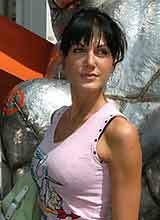 a woman in Anaheim, California